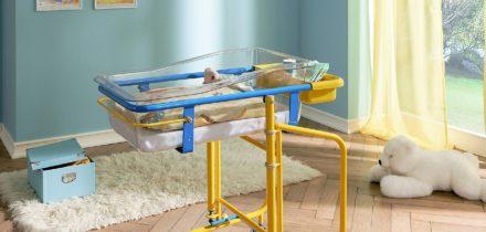 Stiegelmeyer Idaro detailfoto babybed